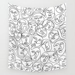 Pareidolia Wall Tapestry