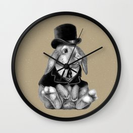 Mister Bunlop Wall Clock