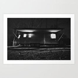 Airstream International Signature Art Print