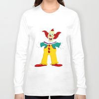 pennywise Long Sleeve T-shirts featuring Krusty by Fransisqo82