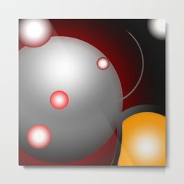 Space Abstract / GFTSpace004 Metal Print