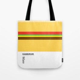Pantone Food - Hamburger Tote Bag