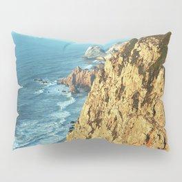 Cabo da Roca, Portugal Analog 6x6 Kodak Ektar 100 (RR 161) Pillow Sham