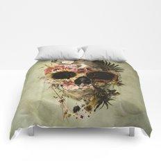 Garden Skull Light Comforters