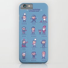 Psychology of headwear Slim Case iPhone 6s