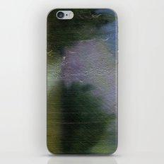 Green Blurry Landscape iPhone & iPod Skin