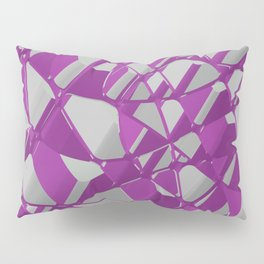 3D Abstract Futuristic Background Pillow Sham