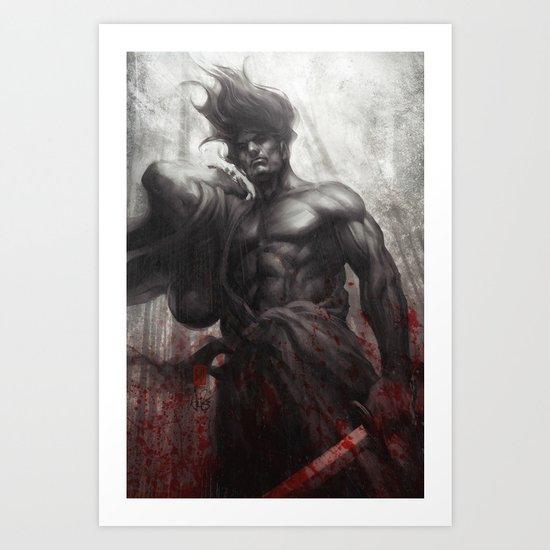 Samurai Spirit Musou Art Print