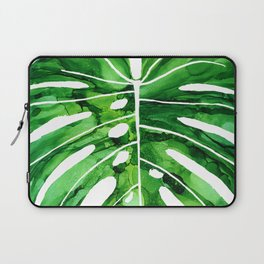 Monstera 3 - alcohol ink Laptop Sleeve