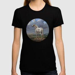 The horse blanc noir  T-shirt