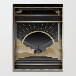 Art deco design V Poster