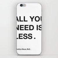helvetica iPhone & iPod Skins featuring helvetica by bertamir