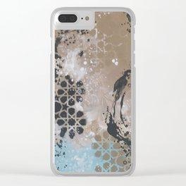 Geometrical Art - madewithunicorndust by Natasha Dahdaleh Clear iPhone Case