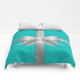 Blue Gift Box Comforters