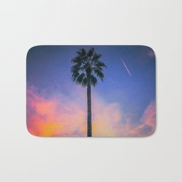 Palm Tree Sky Bath Mat