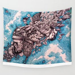 For whom the bell tolls Wall Tapestry