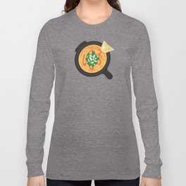 Q is for Queso Long Sleeve T-shirt