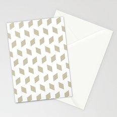 rhombus bomb in tidal foam Stationery Cards