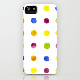 Candied Polka Dots iPhone Case