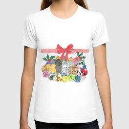 Christmas kitties T-shirt