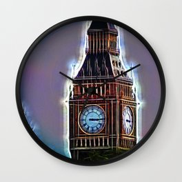 Iluminated Big Ben Wall Clock