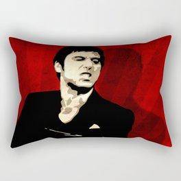 Tony Montana Scarface Pop Art Rectangular Pillow