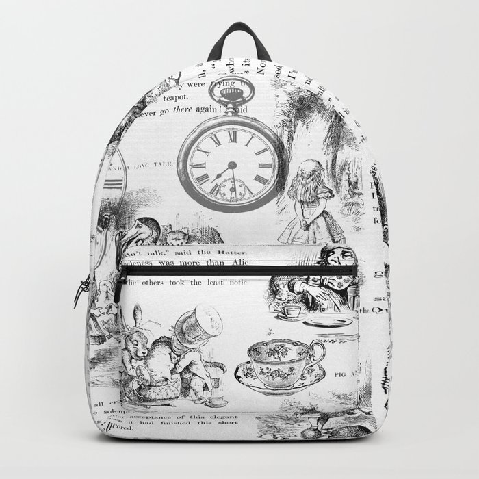 Alice in Wonderland - Pages Backpack
