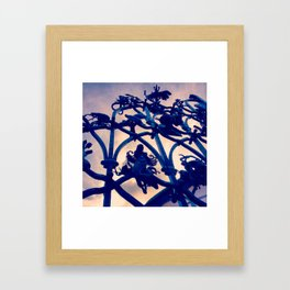 Gates of the Globe Framed Art Print