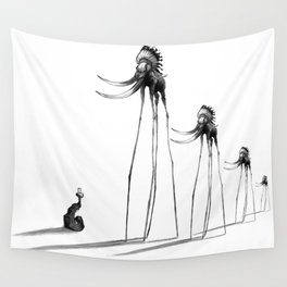 Rise of The Mammoths Wall Tapestry