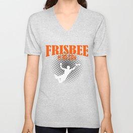 Frisbee Is My Life Unisex V-Neck