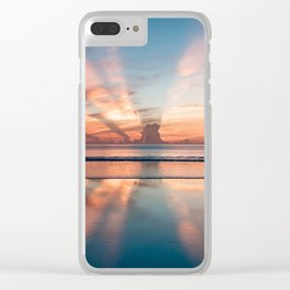 our beautiful world Clear iPhone Case