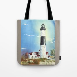 Big Sable Point Lighthouse Tote Bag