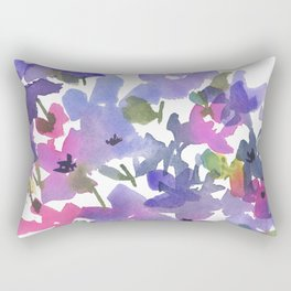 Little Fairy Field Flowers Rectangular Pillow