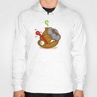 poop Hoodies featuring Sick Poop by Artistic Dyslexia