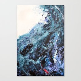 The First Wave Canvas Print