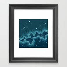 Northern Skies II Framed Art Print