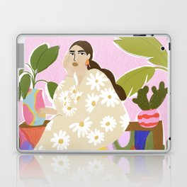 Hanging out with plants Laptop & iPad Skin