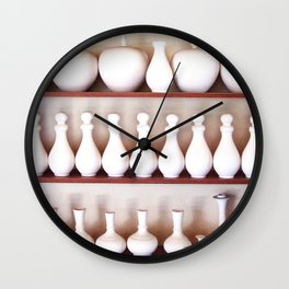 Pottery Production Wall Clock