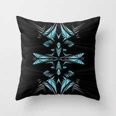 Mint shape Throw Pillow