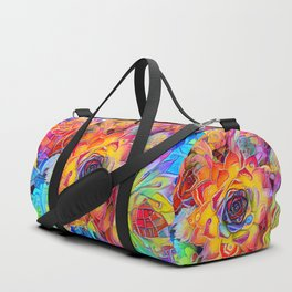 Succulent Madness Duffle Bag