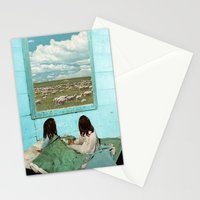COUNT SHEEP Stationery Cards