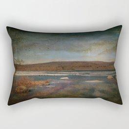 Solitary Loveliness Rectangular Pillow