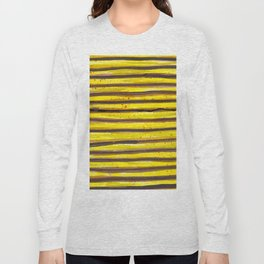 BUMBLE BEE SWIRL Long Sleeve T-shirt