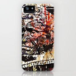 Maori Warrior 1 iPhone Case