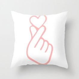HEART HAND Throw Pillow