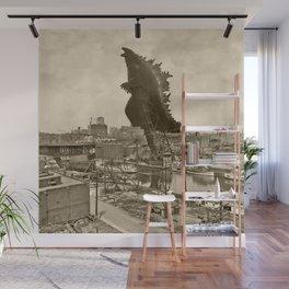 Godzilla King of Monsters Ohio 1903 Wall Mural