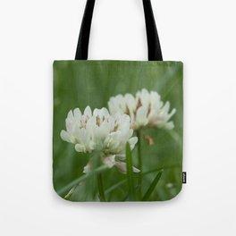White Clover Tote Bag