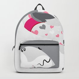 Shark summer fun Backpack