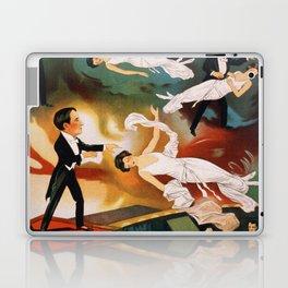 Vintage Magician Thurston Levitation Laptop & iPad Skin