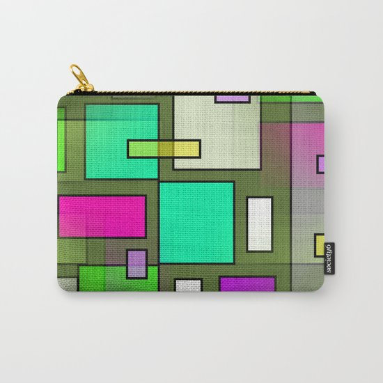 Color Structure Carry-All Pouch